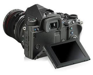 Ricoh Pentax KP Digital SLR Camera (Black) Body Only
