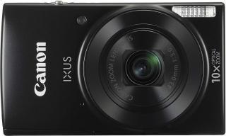 Canon IXUS 180 Digital Camera (Black) with 8GB Memory Card and Camera Case