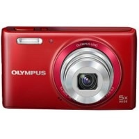 Olympus Stylus VG-180 Point & Shoot Red