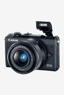 Canon EOS M100 (15-45mm Lens) Mirrorless Camera (Black)