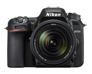 Nikon D7500 20.9MP Digital SLR Camera (Black) with AF-S DX NIKKOR 18-140mm f/3.5-5.6G ED VR Lens(with Bag)