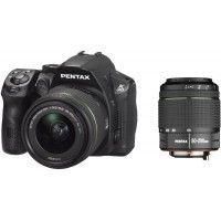 Ricoh Pentax K30 DSLR DAL 18-55mm & DAL 50-200mm Black