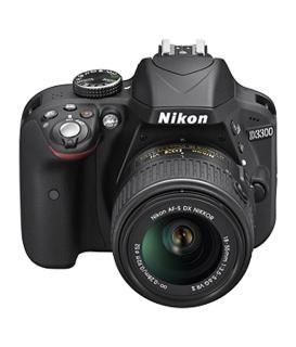 Nikon D3300 DSLR Camera Body AF-P DX Nikkor 18 - 55 mm Black