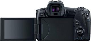 Canon EOS R Mirrorless Camera Body with Single Lens: RF24-105 mm f/4L IS USM Lens(Black)