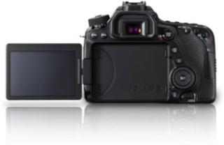 Canon EOS 80D DSLR Camera (Body Only) (16 GB SD Card)(Black)
