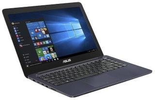 Asus EeeBook E402NA (Celeron Dual-Core/2 GB/32 GB/35.56 cm (14 Inch)/ Windows 10) Thin & Light E402NA-GA022T (Dark Blue, 1.65 Kg)