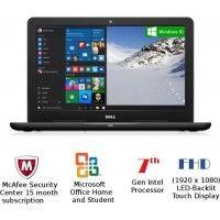 Dell Inspiron 15 5567 (Ci7/8GB/1TB/Win10/15.6 Inches/4GB Graph) Black