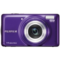 Fujifilm FinePix T350 14MP Point and Shoot Digital Camera with 10x Optical Zoom (Purple)