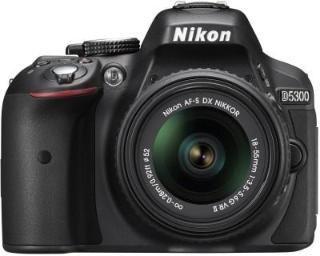 Nikon D5300 DSLR Camera Body AF-P DX Nikkor 18-55 mm VR Black