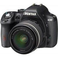 Ricoh Pentax K-50 DSLR 18-55 mm Black