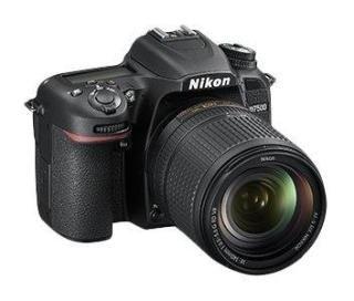 Nikon D7500 Camera AF-S VR Nikkor 18-105mm VR Black