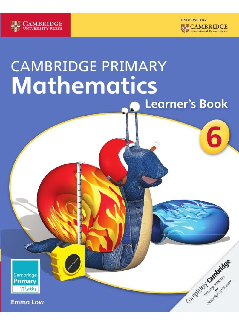 Cambridge Primary Mathematics Stage 6 Learner's Book - Paperback