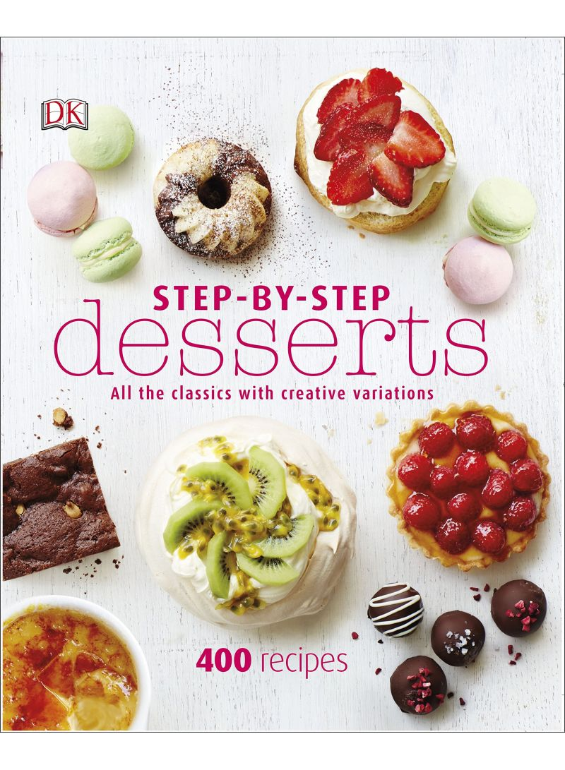 Step-By-Step Desserts - Hardcover