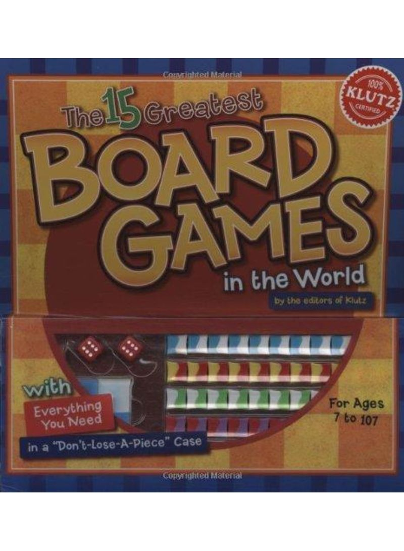 The 15 Greatest Board Games in the World - Paperback