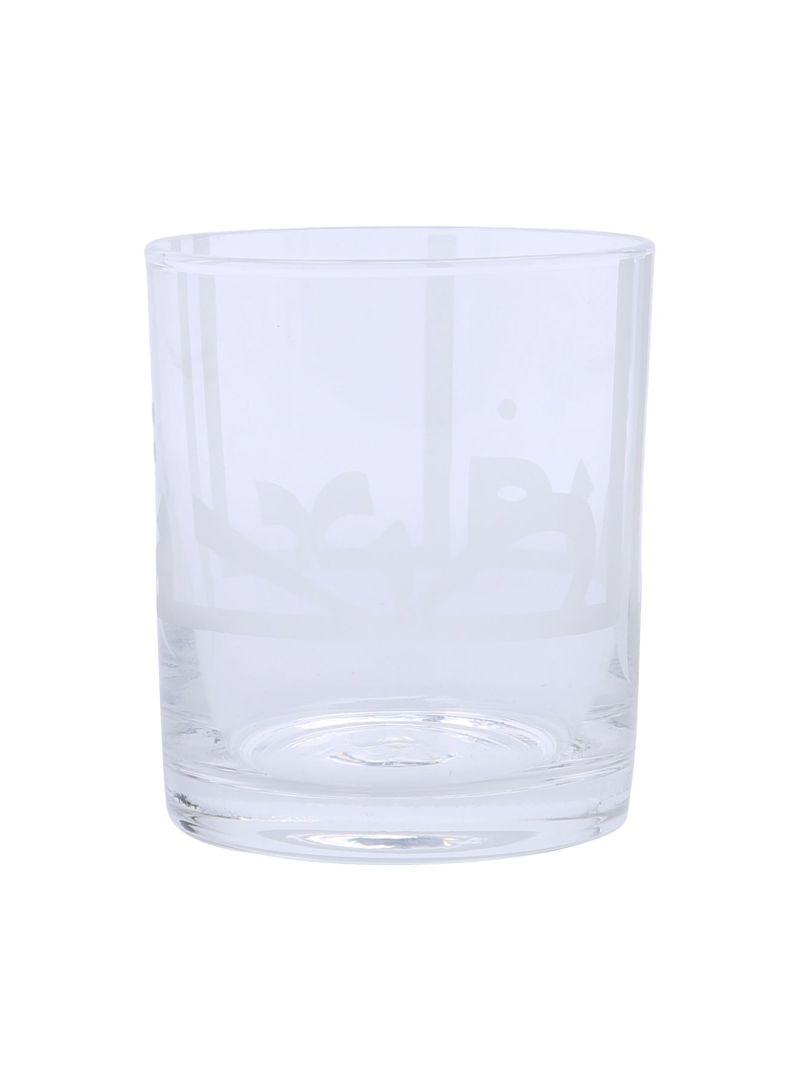 Kuffic Tumbler Glassware White 8.3 centimeter