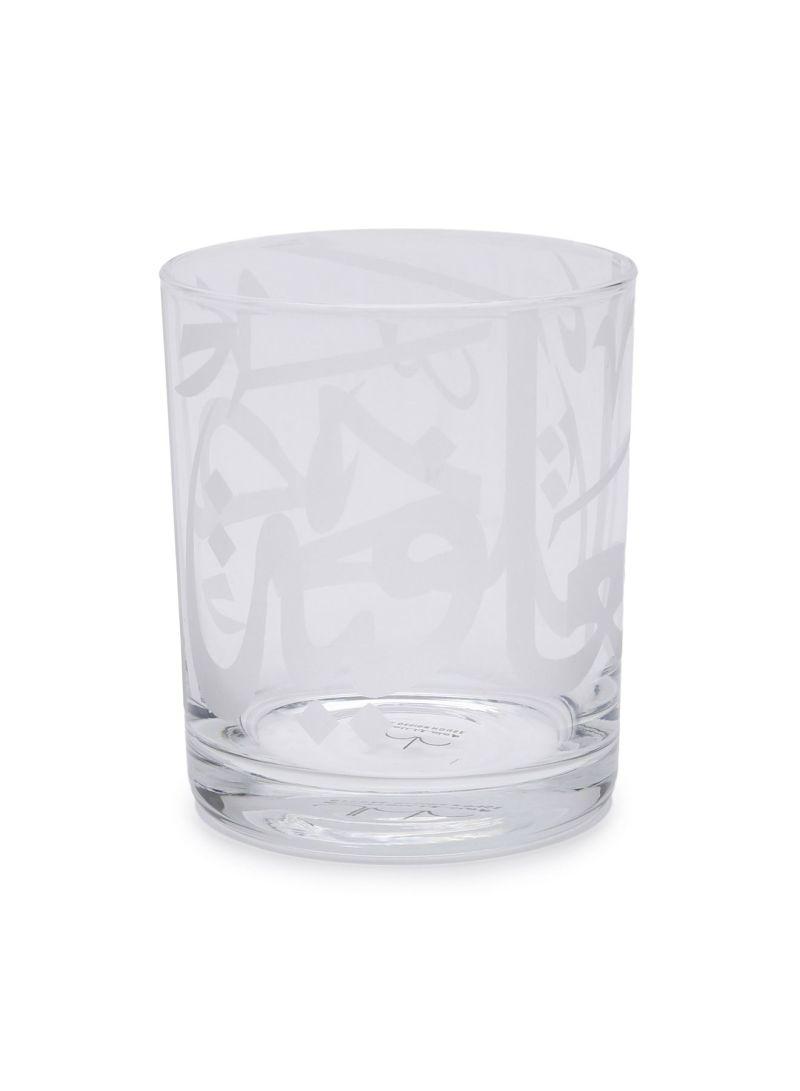 Ghida's Tumbler Glassware White 8.3 centimeter