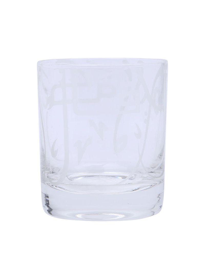 Maghrebi Tumbler Glassware White 8.3 centimeter