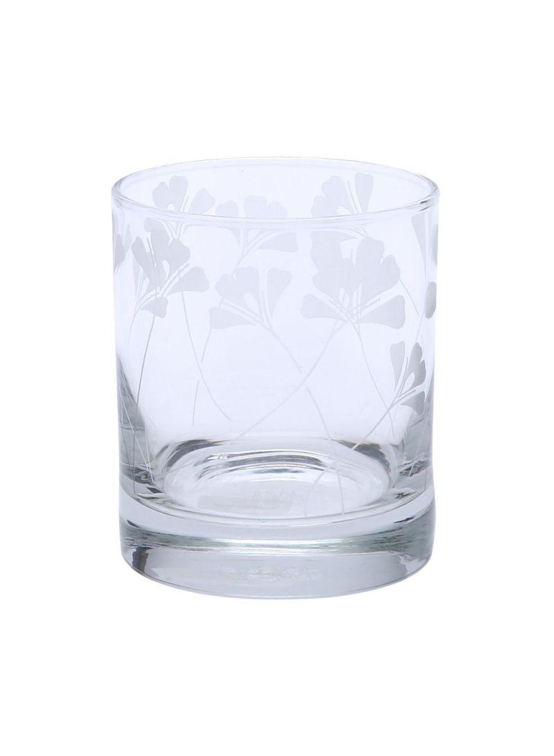 Oddette's Tumbler Glassware Short White 7 ounce