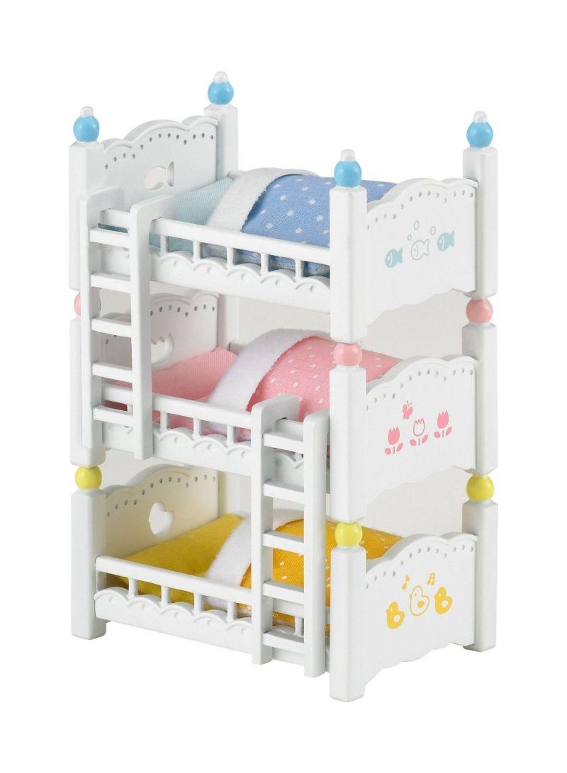 Triple Bunk Beds 10 x 14 x 6 centimeter