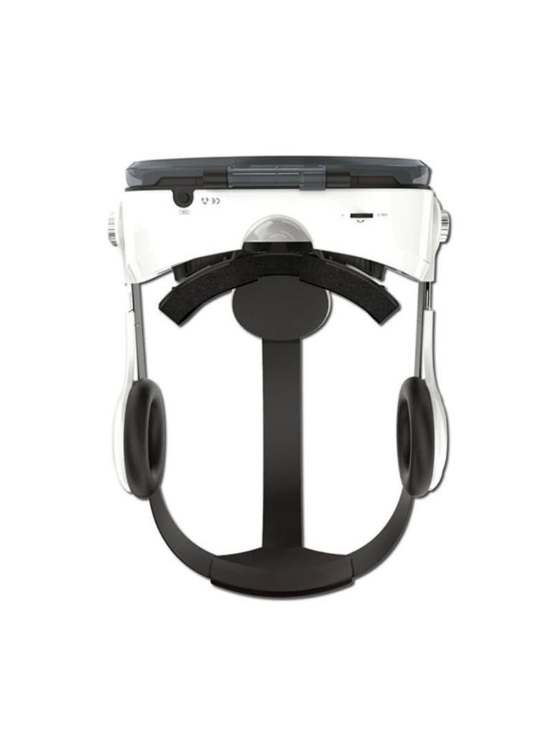 Immersive VR 3D Headset White/Black