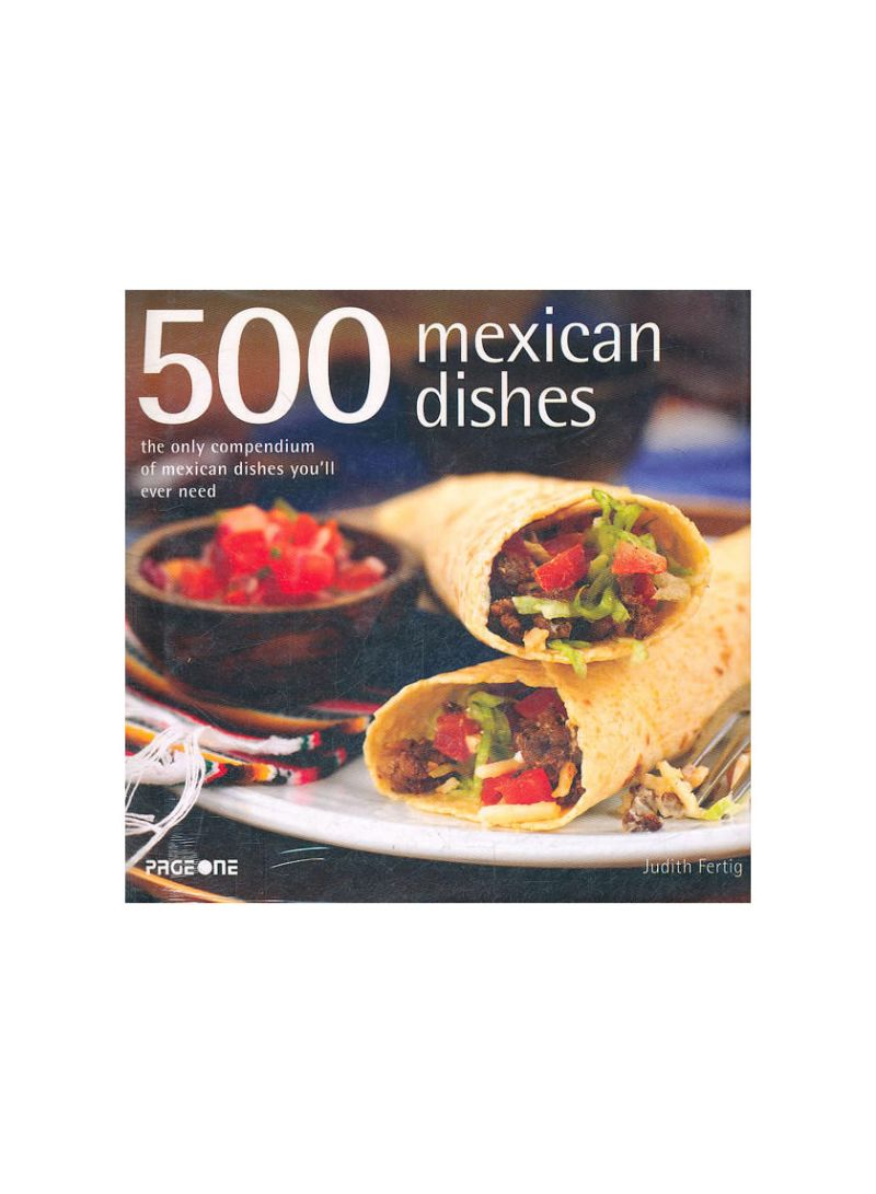 500 Mexican Dishes - Hardcover