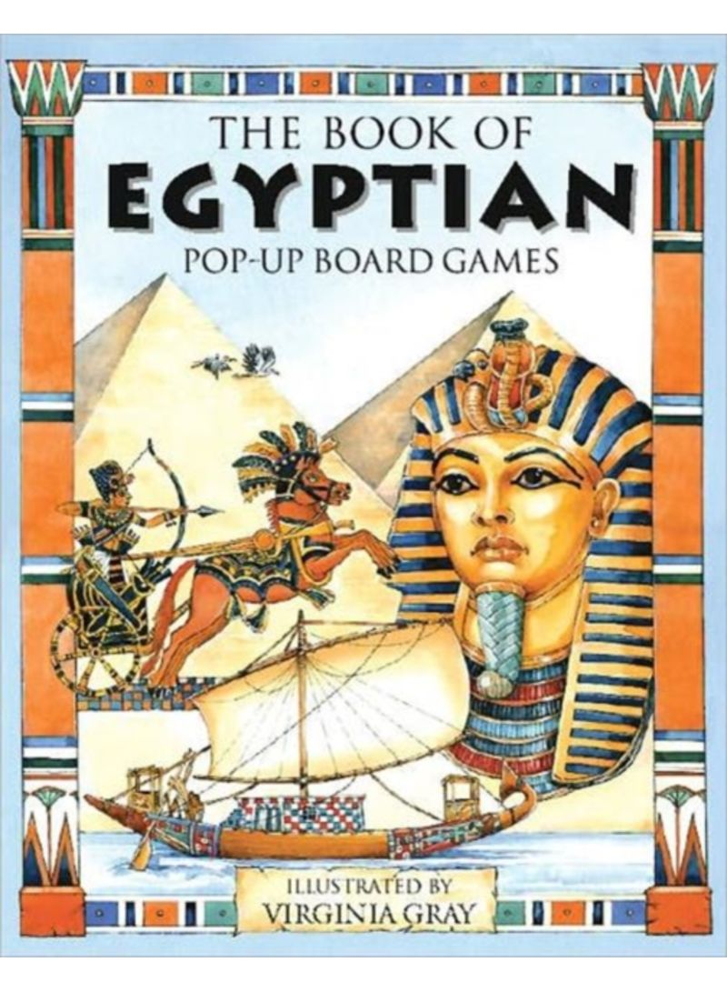The Book of Egyptian Pop-Up Board Games - Hardcover Pop edition