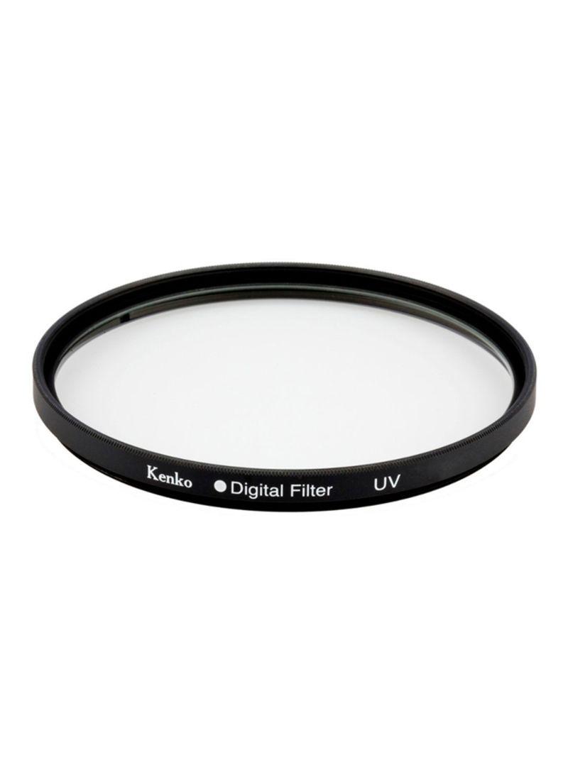 52mm UV Filter Black