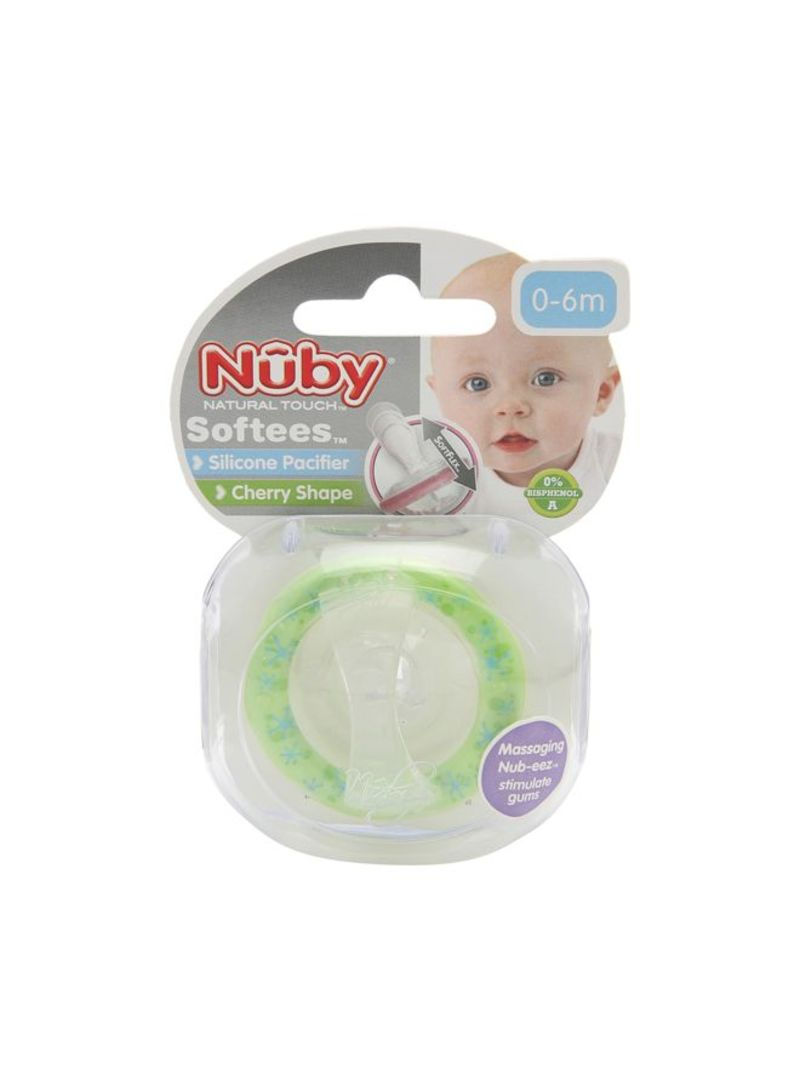 Softees Cherry Pacifiers