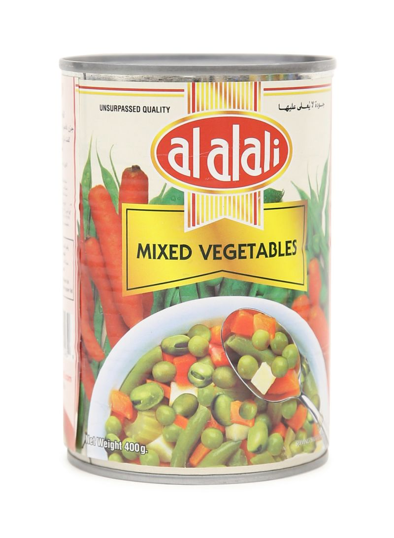 Canned Mixed Vegetables 400g 400 g