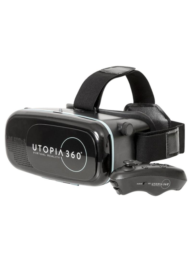 Utopia 360° Virtual Reality Headset Black
