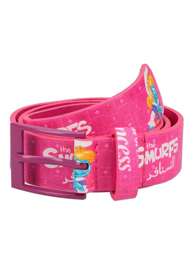 Pack Of 2 Belts Pink