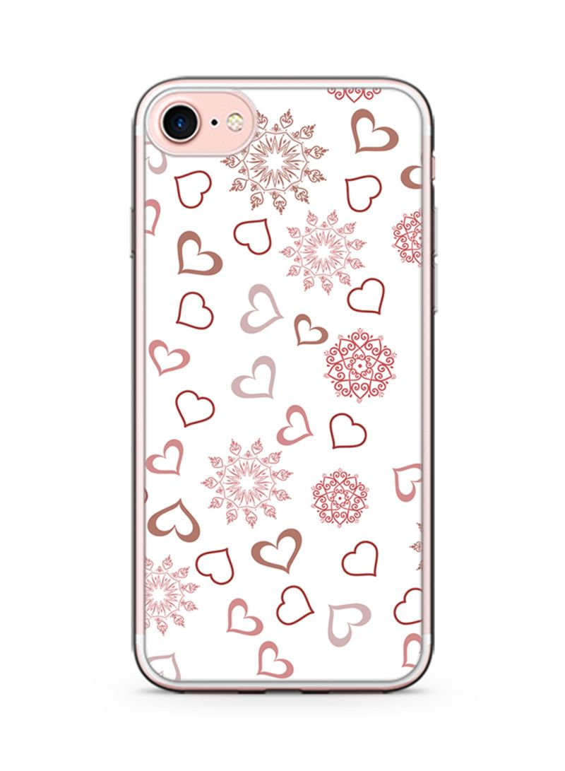 Plastic Ultra Slim Case Cover For Apple iPhone 8 Plus Valentines Gift Love Heart Pattern