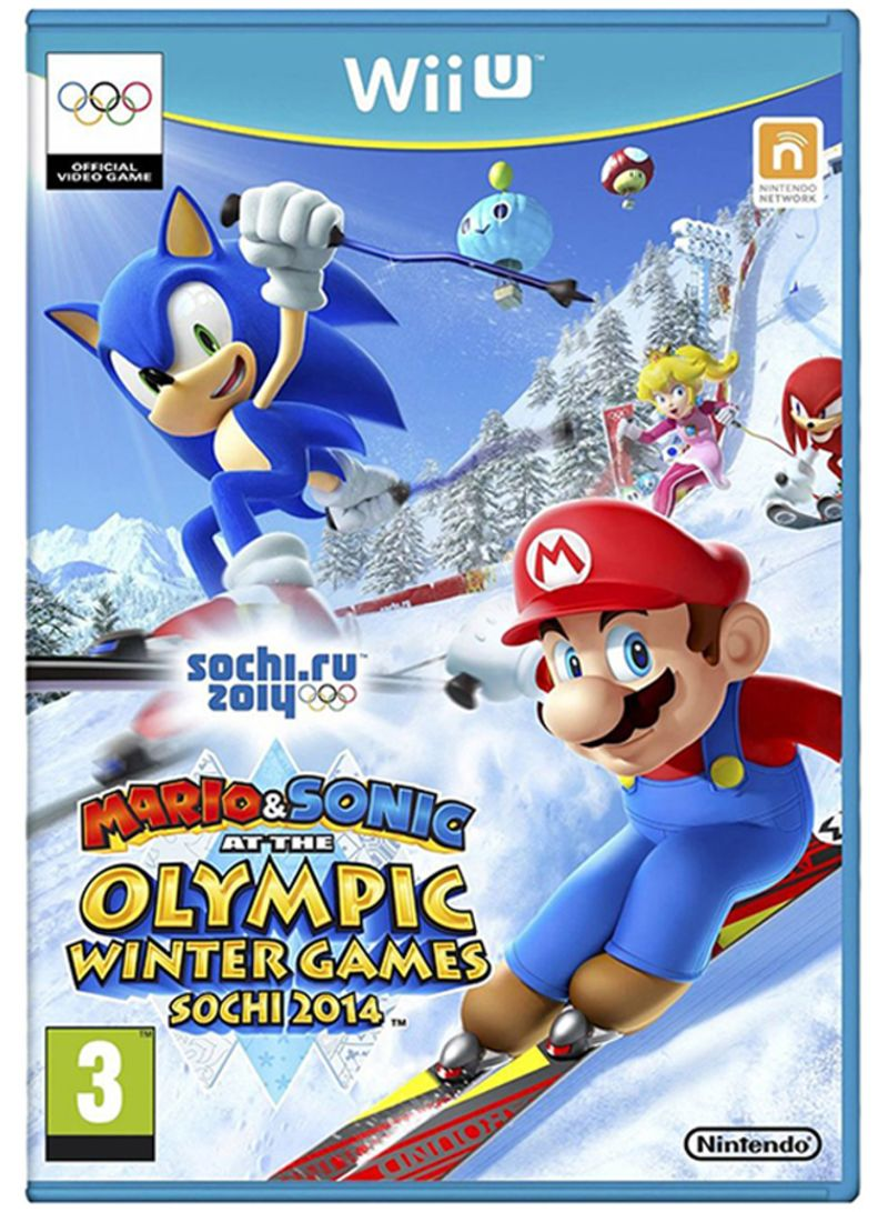 Mario And Sonic At The Winter Olympic Games Sochi 2014 - Region 2 - Nintendo Wii U