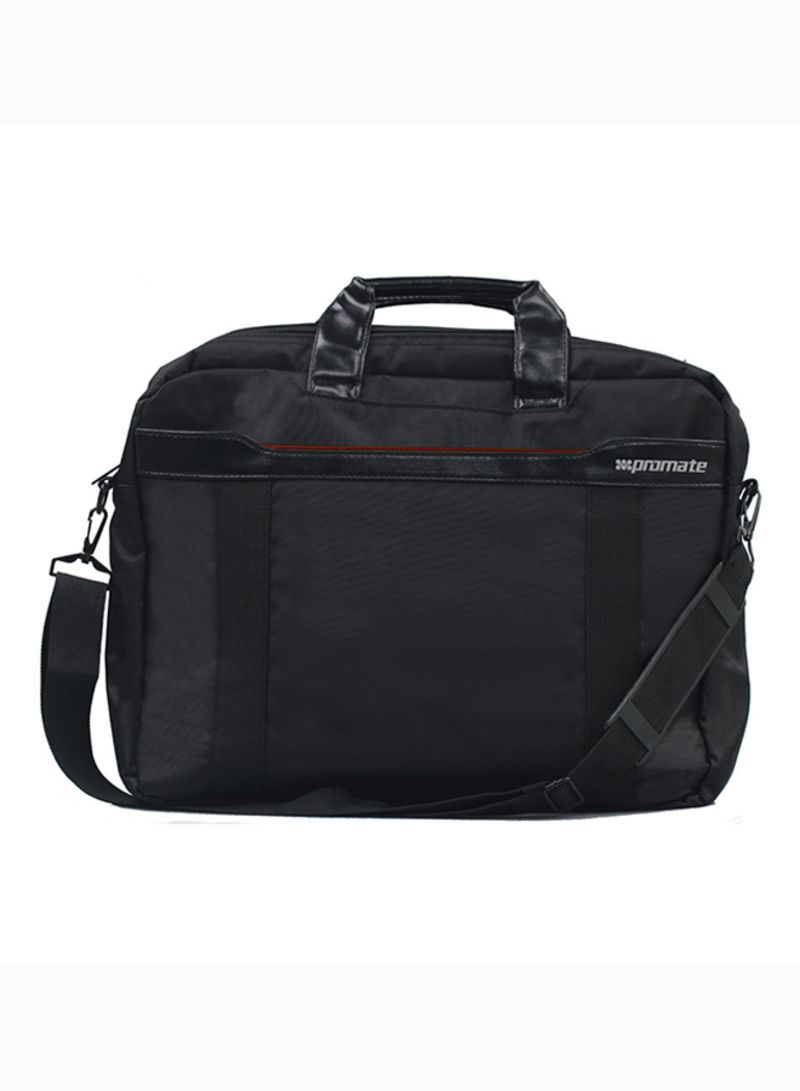Messenger Bag With Superior Quality Design For 15.6-Inch Laptop, MackBook Pro, Lenovo, HP, Dell, Toshiba Black