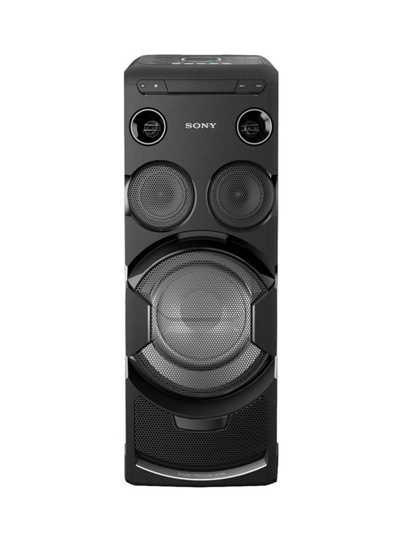 High Power Home Audio System MHC-V77DW Black