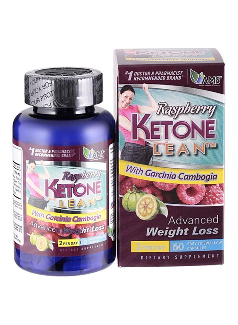 Raspberry Ketone Weight Loss Supplement - 60 Capsules