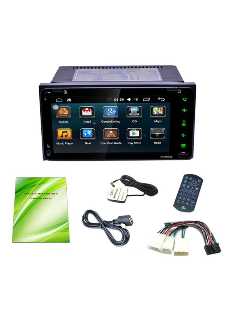Dual Core Android 5.1 DVD Player Car Wi-Fi Navigation