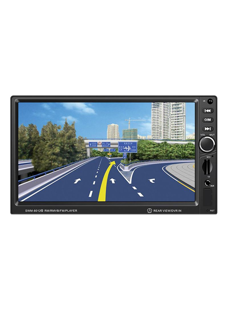GPS Navigation Brake Prompt Car DVD Player