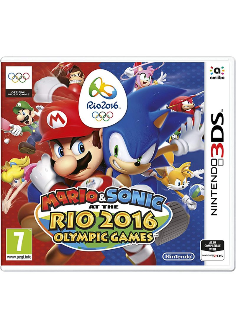 Mario And Sonic: Rio 2016 Olympic Games - Nintendo 3DS