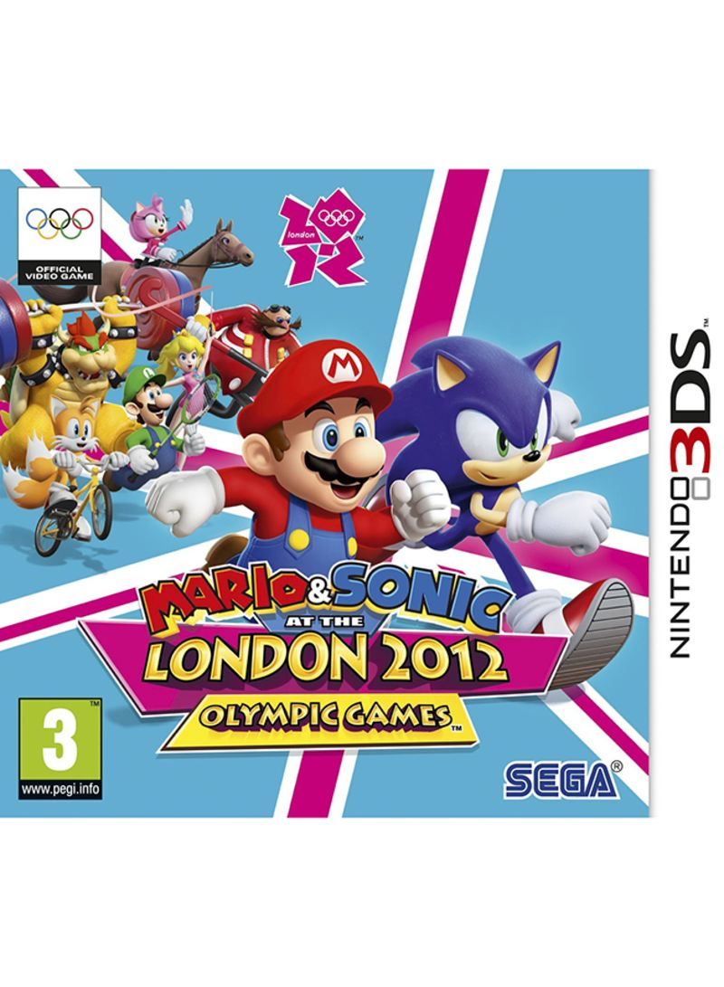 Mario And Sonic At The London 2012 Olympic Games - Nintendo 3DS