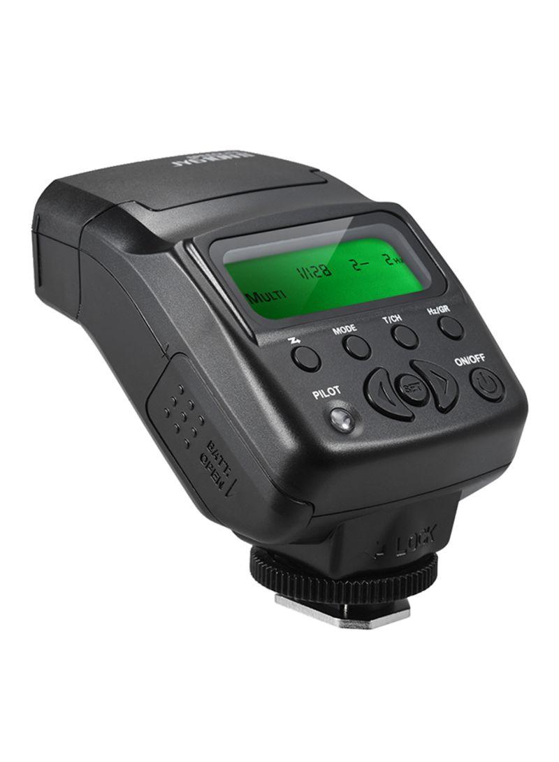 On-Camera Mini Speedlite Flash For Nikon D3300/D5300/D7100 Black