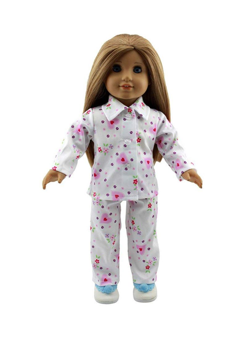 2-Piece Sleepwear Clothes For 18 Inch American Doll