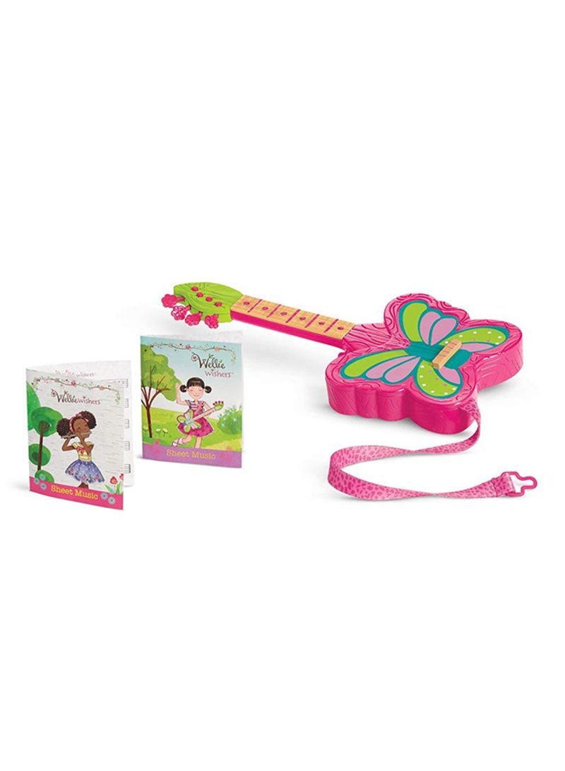 Welliewishers Strings And Wings Guitar Doll Accessories