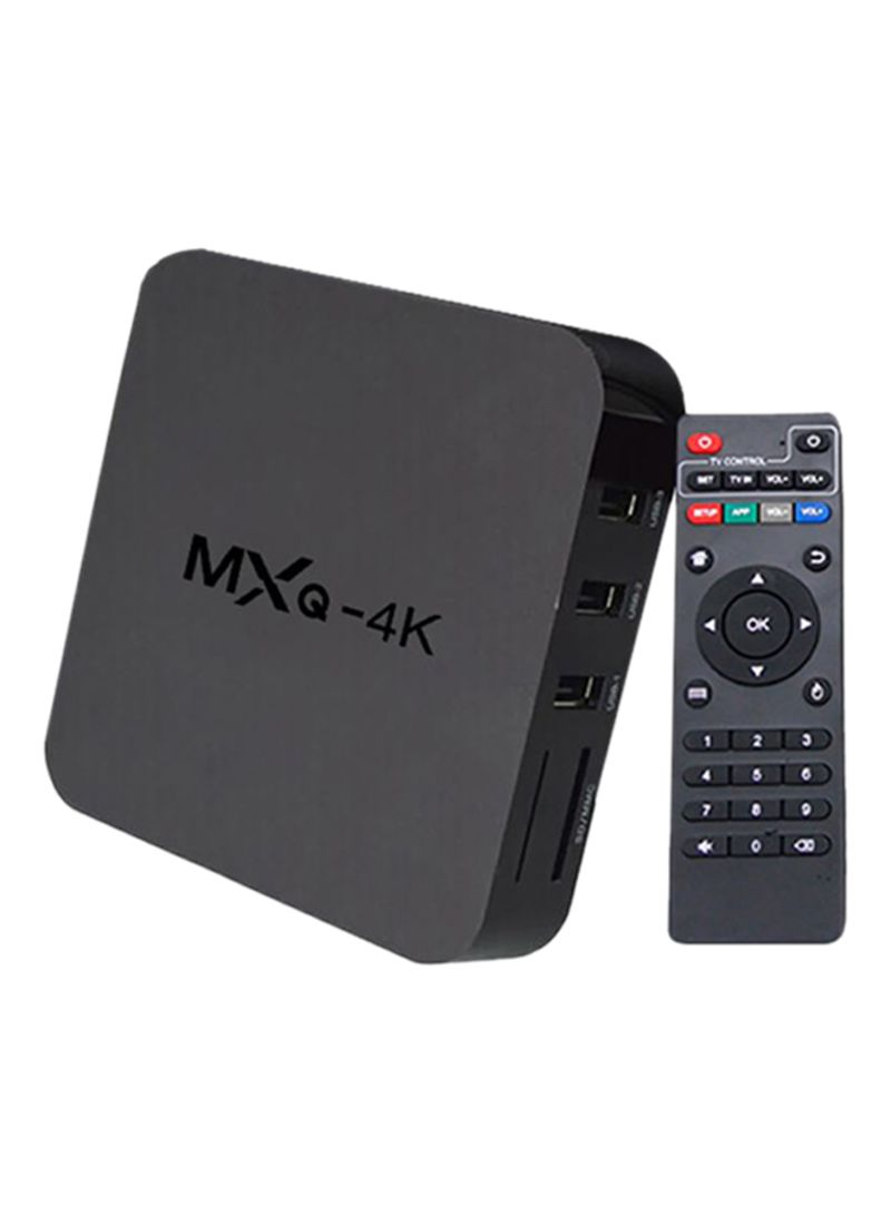 4K Android Smart Tv Box With Measy Gp811 With Accessories 2724584668552 Black
