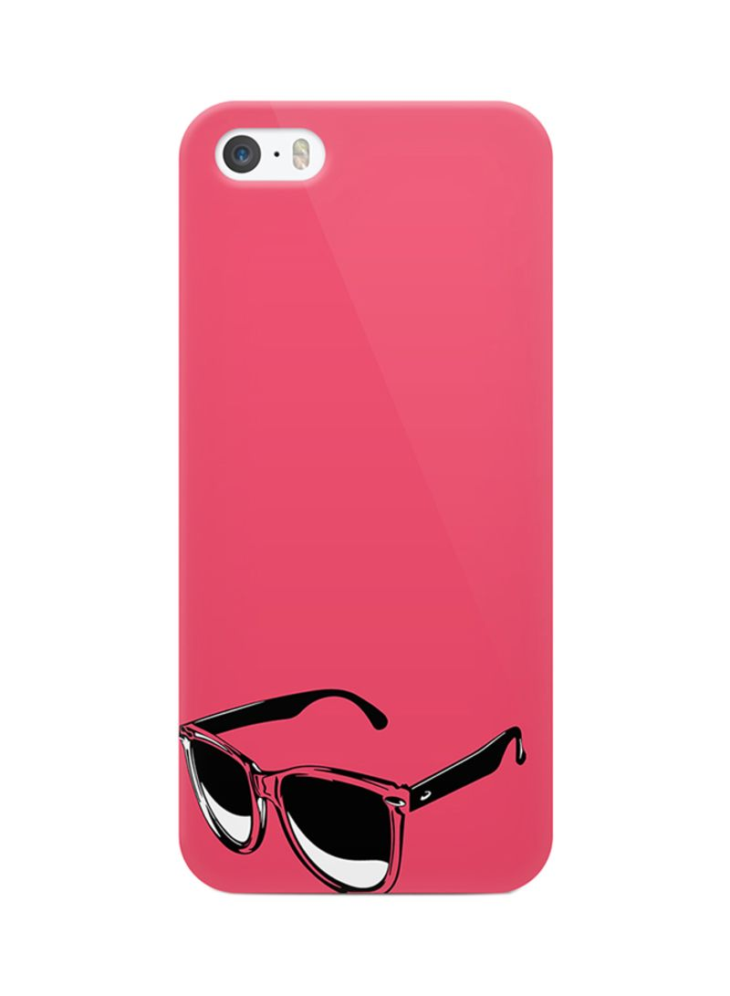 3D Print Protective Case Cover For Apple iPhone 5 Glasses Stylish