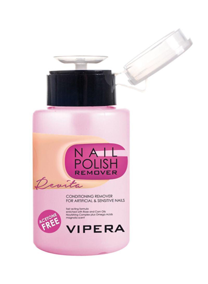 Revita Nail Polish Remover With Pump Clear
