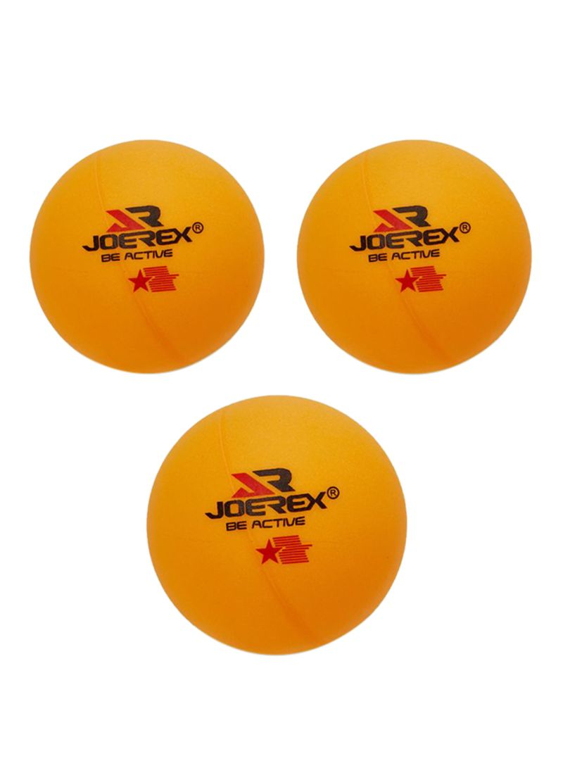 3-Piece Table Tennis Ball 40 millimeter
