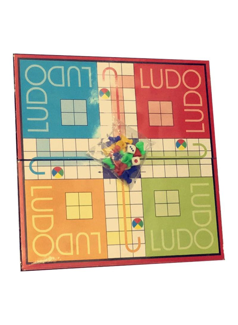 2-In-1 Snakes And Ladder Plastic Board Games