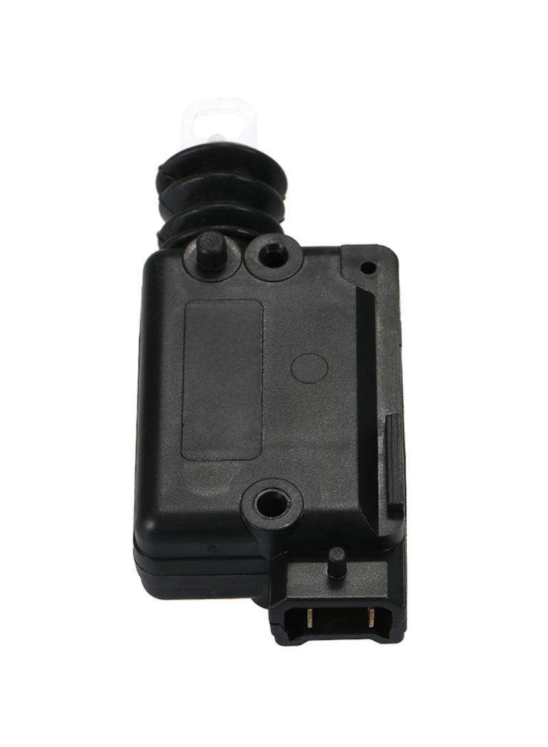 2PCs Carbon Fiber Style Anti Scratch Car Rear Bumper Lip Diffuser Splitter Universal
