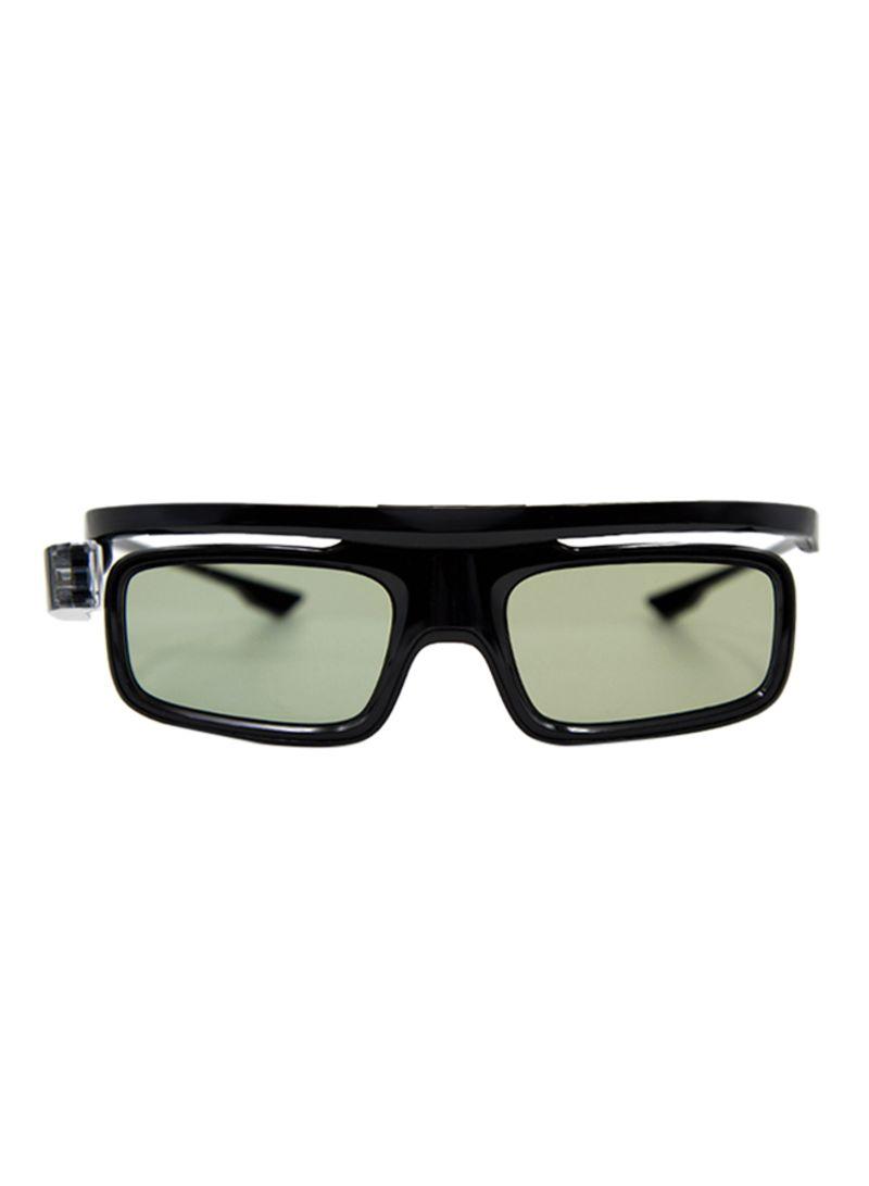Active Shutter 3D Glasses Black
